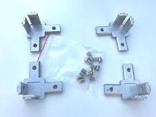 4 PCs  3 way  Corner Bracket for 2020 Aluminium Extrusion T-Slot Profile