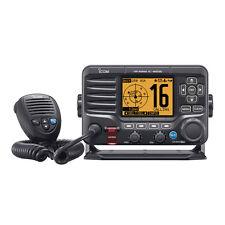 Icom M506 Fixed Mount VHF Marine Radio With Mic AIS NMEA 0183/2000 Black M506 21