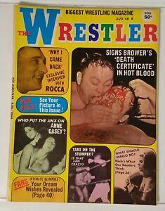 THE WRESTLER - VOL. 2 NO. 3 - BULLDOG BROWER - AUG. 1969