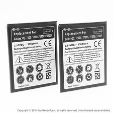 2 Replacement Batteries for Samsung Galaxy J7 LTE J700M Net10
