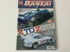Japanese Cars Banzai Magazine No. 34 August 04 (Nissan 350Z & Datsun 240Z)