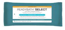 Medline ReadyBath Select Unscented Antibacterial Body Cleansing Cloths, Medium