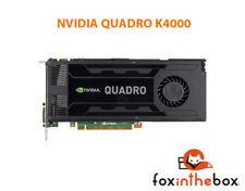 Nvidia Quadro Kepler K4000, 3GB GDDR5 AutoCAD cert. graphics card