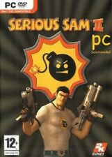 SERIOUS SAM II 2 PC GAME 2005 NEW AND SEALED