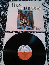 THE CIMARONS - IN TIME LP EX!!! UK 1ST PRESS TROJAN TRLS 87 KEN ELLIOTT