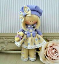Rag doll handmade Mothers day gift Tilda doll Ooak doll  DAISY 6 inch tall