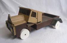 Älterer Holz-LKW - MAN - Holzspielzeug - 30,5 cm - Wooden Toy Car