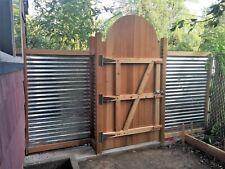 "EZ FIT CEDAR GATE KIT, wood gates made easy! 3 Rail  60"" -72"" hi,  36""- 60"" wide"