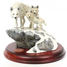 Hallmark Galleries The Majestic Wilderness Arctic Wolves 1994 Limited Edition