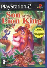 SON OF THE LION KING - PS2 (USATO EX NOLEGGIO) ITALIANO