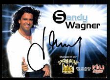 Sandy Wagner Autogrammkarte Original Signiert ## BC 43711
