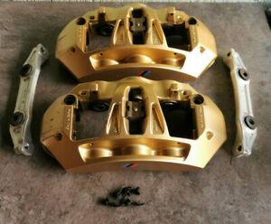 BMW M3 M4 M5 F10 F80 CCB Brake calipers Brembo 6-Piston Gold  - Used