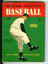 MAJOR LEAGUE BASEBALL 1950, rare US Dell digest pulp vintage pb, Yank Joe Page