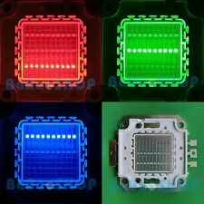30W RGB Red Green Blue Full Color Colorful High Power LED Lamp Light 30Watt COB