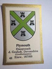 Plymouth / Sammelbild Abdulla Wappen