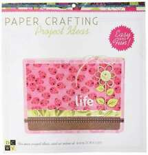 """Whimsical World 12""""x12"""" Paper Stack W/glitter & Foil DCWV 48 Sheets 24 Designs"""