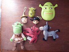 Bundle Shrek figure toy playset Pinocchio Dragon Donkey Puss bugs soft toy