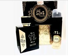 Original Oud 24 hours 100ml Al Zafaran Black Orchid Perfume Spray EDP +FREE GIFT