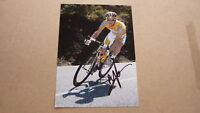 AUSTRALIAN CYCLING CHAMPION MICHAEL ROGERS HAND SIGNED 7x5 ACTION PHOTO