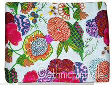 New Indian Cotton Screen Print Material Running Loose Sewing 1 Yard Fabric Craft