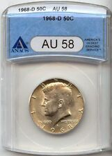Circulated ANACS Kennedy Half Dollars (1964-Now)