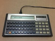 HP-71B Scientific Calculator w/ AC Adapter