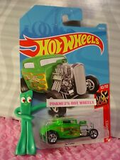 '32 FORD COUPE #246✰green;5sp;EARLY TIMES✰FLAMES✰2018 i Hot Wheels WW CASE L/M