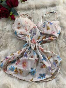 Intimissimi flowers padeed underwired Camisole sleepwear size us38b eu85b It5b