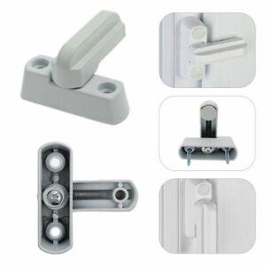8x UPVC Window Security Locks Door Sash Jammer Durable Safety Restrictor Latch