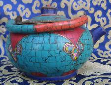 Antique Tibetan Handmade Copper Teapot, Nepal