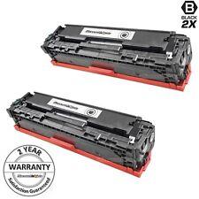 2PK CB540A for HP 125A Black Toner Cartridge Printer CM1312 MFP CP1215 CB540