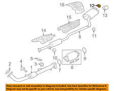 HONDA OEM Exhaust-Muffler & Pipe Mount Cushion 18215TR7A01