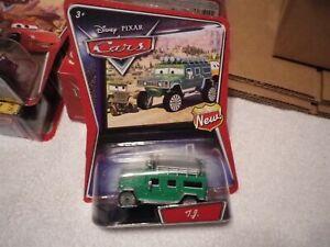 Disney Pixar Cars TJ Green Hummer