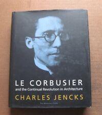 LE CORBUSIER by Charles Jencks - 1st/1st HCDJ 2000 - art architecture design