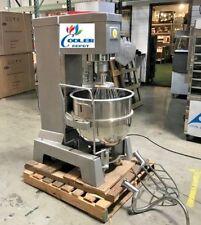New 80 Quart Mixer Machine 3 Speed Bakery Kitchen Equipment Mx80 Commercial Use