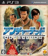 Used PS3  Uncharted 2 PLAYSTATION 3 SONY JAPAN JAPANESE IMPORT
