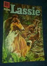 M-G-M's Lassie #36 (Sep-Oct 1957, Dell) tv show lot run set golden age comics