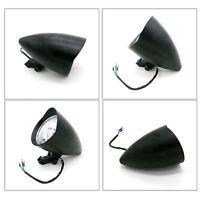 Black Bullet Motorcycle Headlight H4 Harley Softail Touring vrod dyna chopper XL