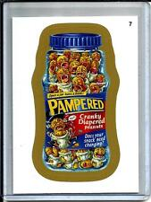 Pampered 2014 Topps Wacky Packages Gold Border Sticker (1 in 494 packs)