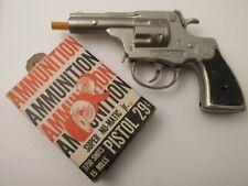 New ListingVintage 1950's Trooper Lone Star Cap Gun/ Box Of Super Numatic Jr. Langston Nr