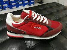 Scarpe da uomo GAS GAM113905 5151 rosso sneakers modello saucony tela passeggio