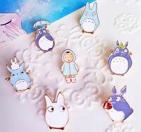Totoro Anime Enamel Pin Lapel Badge Collection Gift 1pc 7 Designs