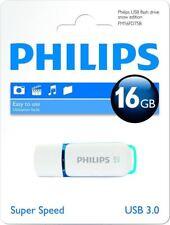 Philips Snow USB Flash Drive16 GB, USB 3.0 - Blue