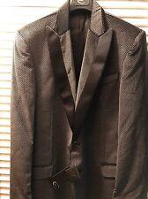 Nwt Cavalli Smoking Mens Jacket 56 Made In Italy Grey $540