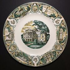 Vintage Imperial Salem China North Carolina Collectible Souvenir Plate 10 7/8""