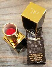 Tom Ford Lip Color Matte Rouge À Lèvres Mat #37 Best Revenge- Size 0.1 Oz./ 3 g
