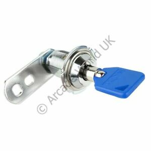 Camlock And Round Key Set - 25mm - Key-Alike - 1 Key Per Lock
