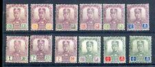 Malaya Johore 1904-10 short set of 12 to $3 SG61/72 MH