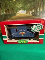 LGB 4065 - W03 LIMITED EDITION White Pass G SCALE CABOOSE  ORIGINAL BOX