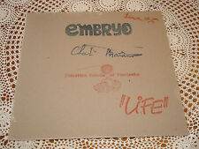CHARLIE MARIANO Embryo Audiophile INDIGO 180g LP NEW SEALED
